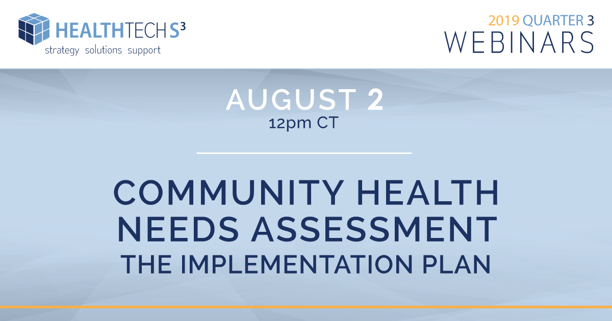 Community Health Needs Assessment                                                 – The Implementation Plan –