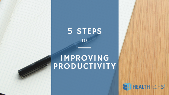 5 Steps to Improving Productivity