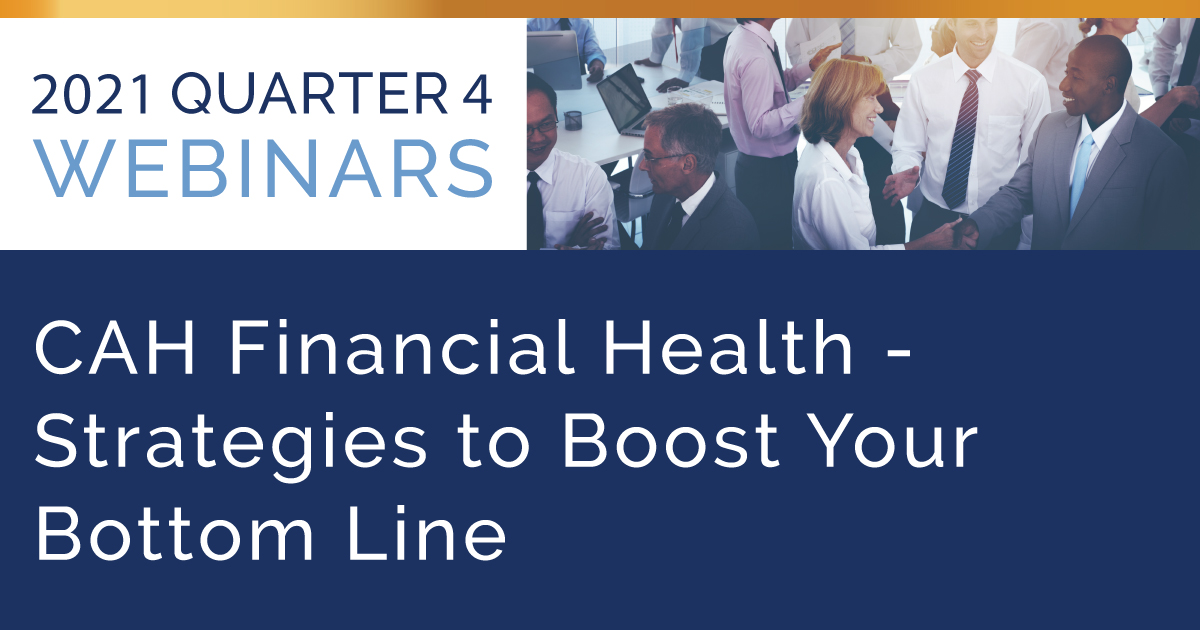 CAH Financial Health: Strategies to Boost Your Bottom Line