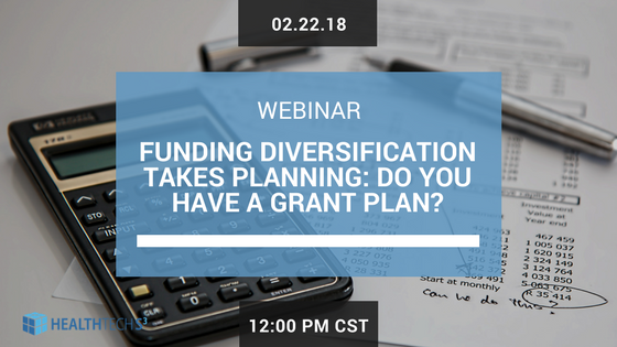 Funding Diversification Takes Planning: Do you have a Grant Plan?