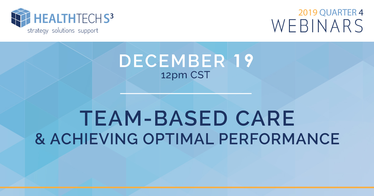Team-Based Care and Achieving Optimal Performance