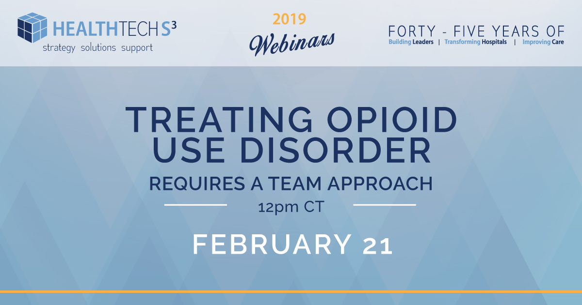 Treating Opioid Use Disorder Requires a Team Approach